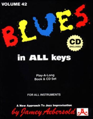 Aebersold 042 Blues In All Keys Book/Cd