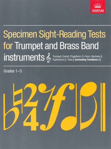 Specimen Sight Reading Grds 1-5 Tpt & Brass Insts
