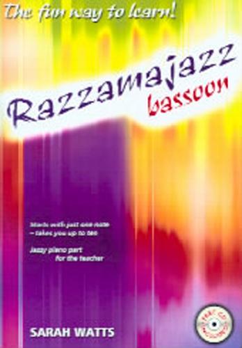 Razzamajazz Bassoon Watts Book & Cd