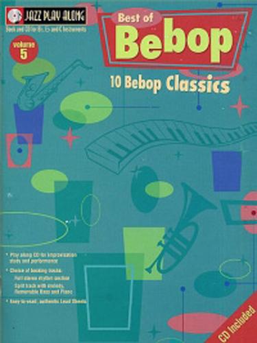 Jazz Play Along 05 Best of Bebop Book & Cd