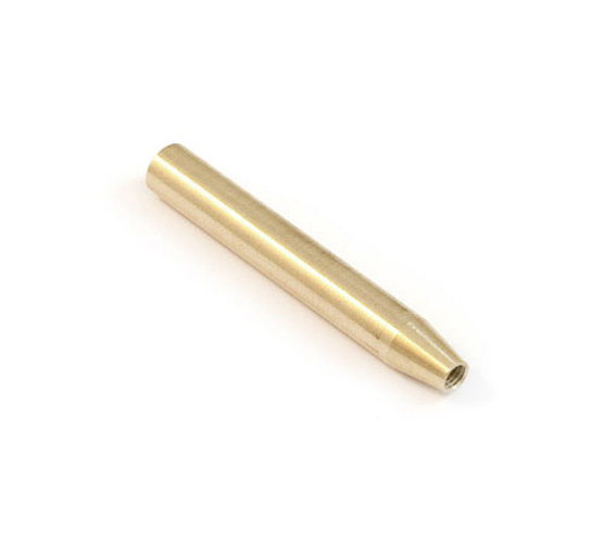 Sleeve with thread for miniball brass Euphonium trigger