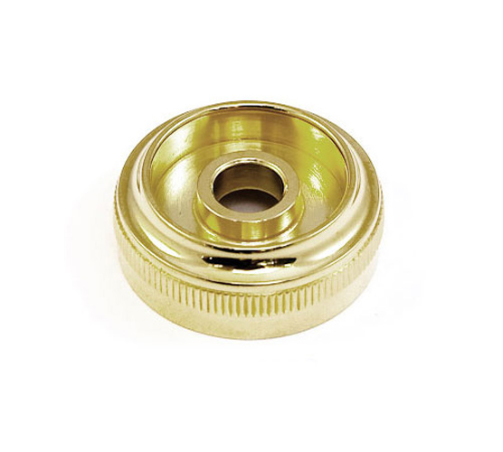 Top Cap - Besson 2051/2052 Heavy 4th valve - Gold Plated