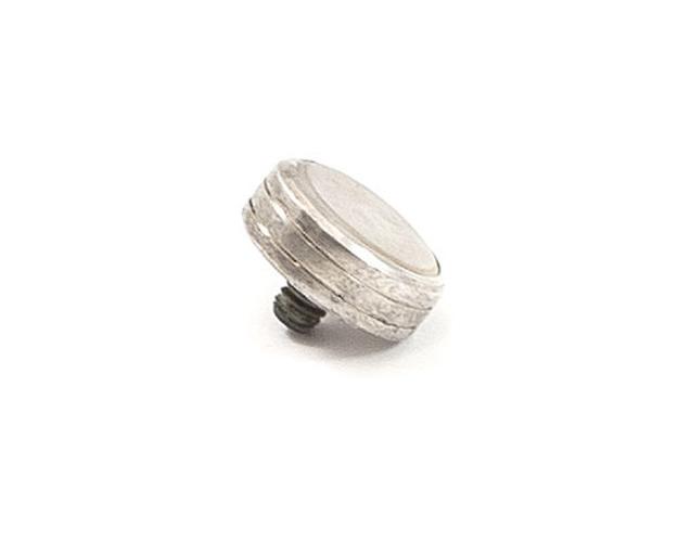Finger Button - Silverplate - Imperial Flugel