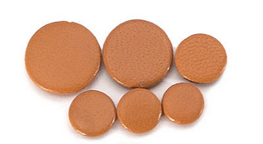 Premium Deluxe Brown Leather Clarinet Pad