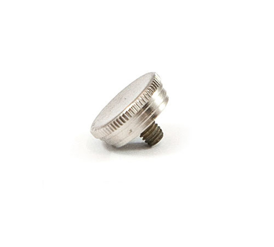 Finger Button - 606/607 Trumpet - Nickel