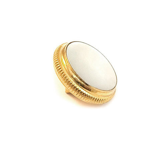 Finger Button - Getzen - 20M Renaissance Gold Plated