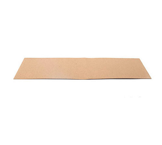 Synthetic Cork Sheet - 30 cm x 10cm - HARD 0.5 mm thick