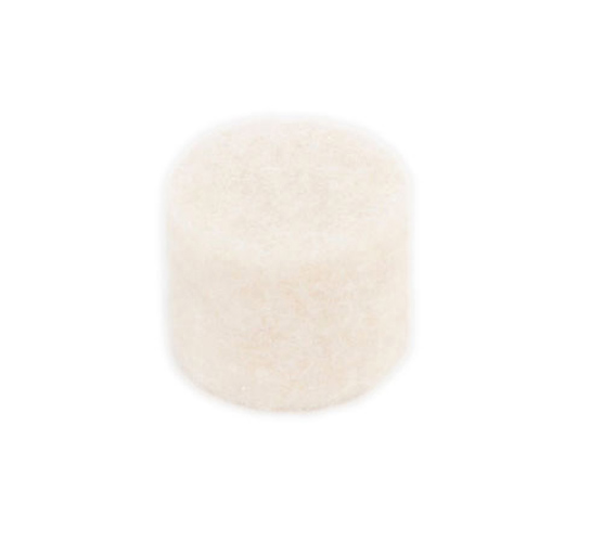 Felt Bumpers White - 12.7mm OD x 6.4mm Thick