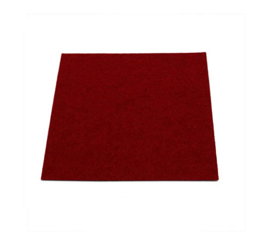 Yamaha Sheet Felt Crimson 1.5 mm - 100x100mm