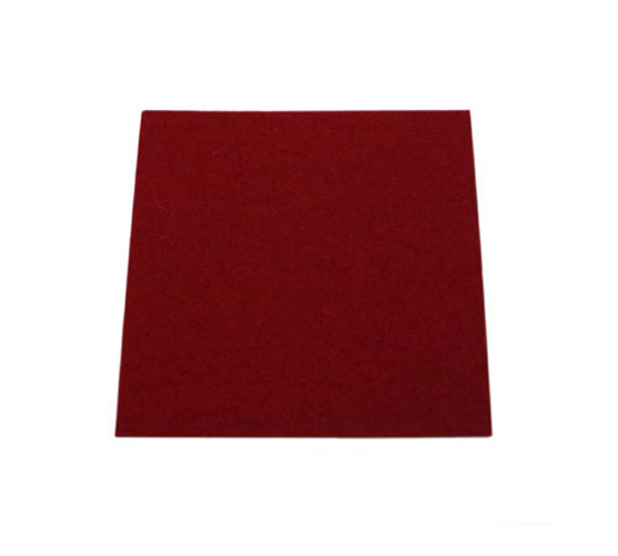 Yamaha Sheet Felt Crimson 2mm - 100x100mm