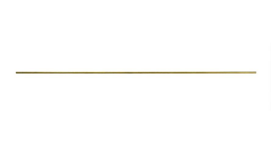 Solid Round Brass Rod 3.2mm x 45.7cm
