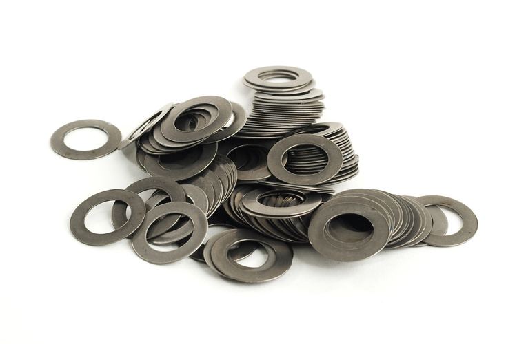 Metal Flute Pad Washers - 100 Assorted Sizes