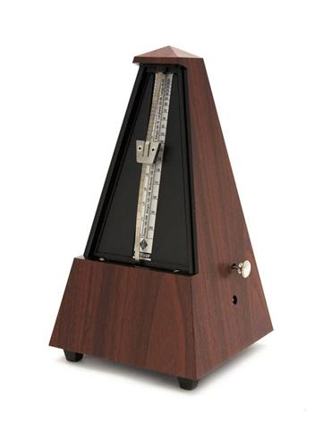 Wittner Metronome - Plastic Pyramid - Mahogany Finish