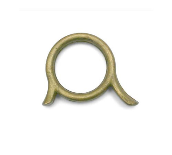 Finger Ring - Raw Brass  - Boosey & Hawkes / Besson Sovereign