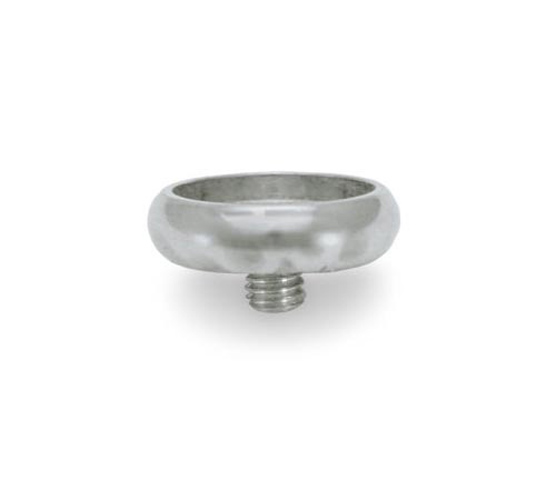 Finger Button Nickel without pearl