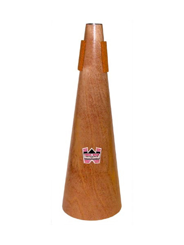 Denis Wick Trombone Mute - Straight Wooden