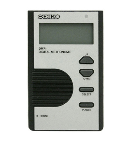 Seiko DM71 Digital Metronome