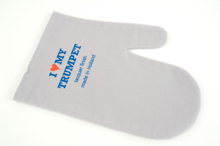 Polish Mitten for Lacquer (I Love My Trumpet) - Trumpet