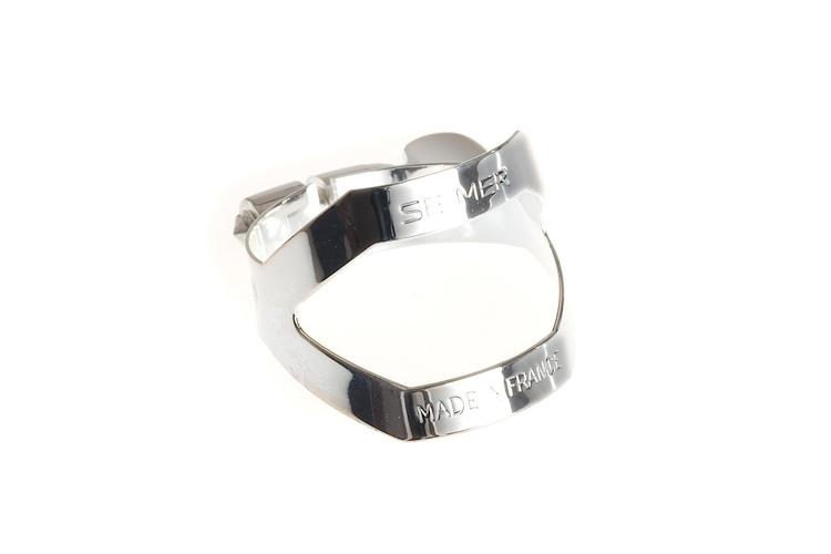 Selmer Alto Sax Ligature - Silver Plate (New Style, one screw)