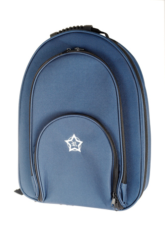 Rosetti Backpack Double Clarinet Case - Blue