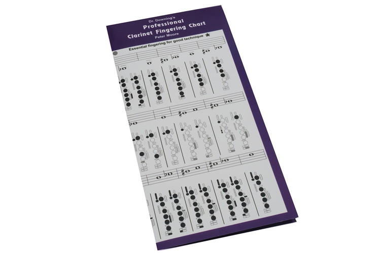 Dr Downing - Professional Clarinet Fingering Chart