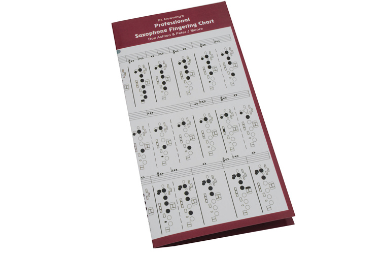 Dr Downing - Professional Fingering Chart