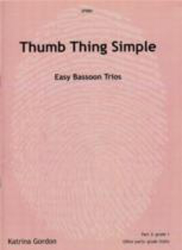 Thumb Thing Simple Gordon Easy Bassoon Trios