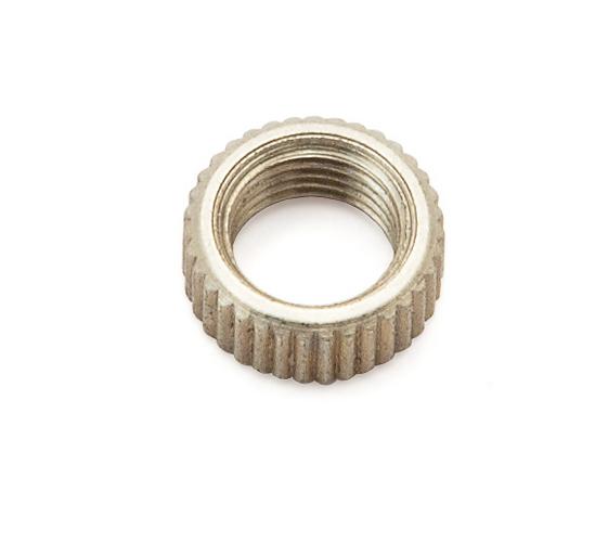 Linkage screw locking ring