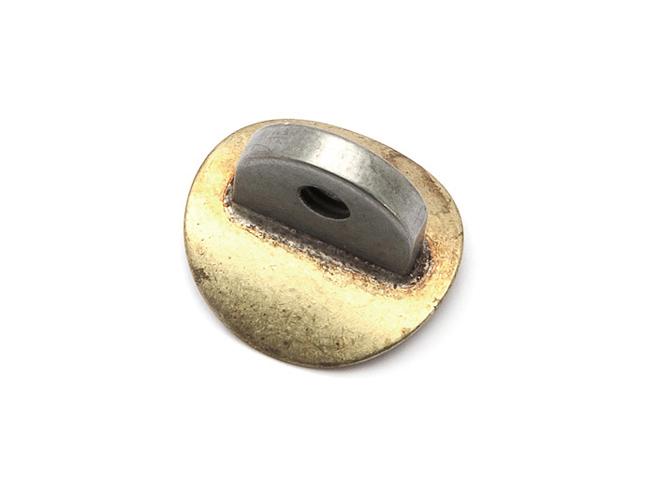 Threaded Ear Brazed assembly Getzen Custom Tenor
