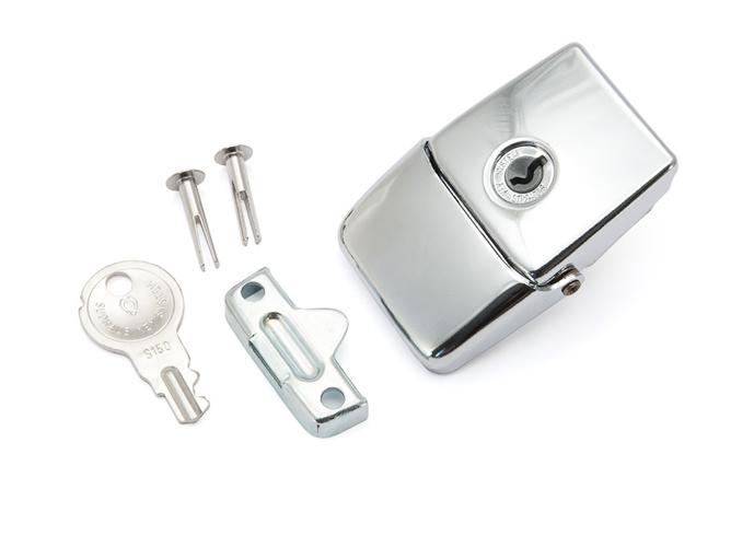 Winter case lock - Nickel - fits 992 Tuba Case