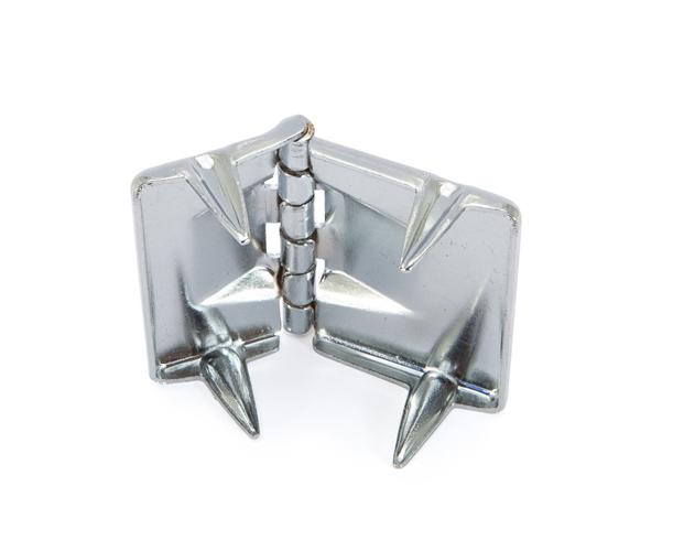 Winter case hinge - Nickel - fits 992 Tuba case