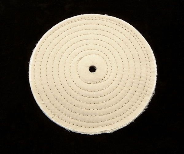 Spiral Stitched Muslin Buff