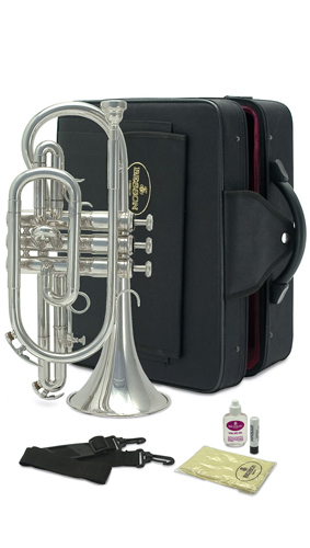 Besson BE1020 Silver Plated - Cornet