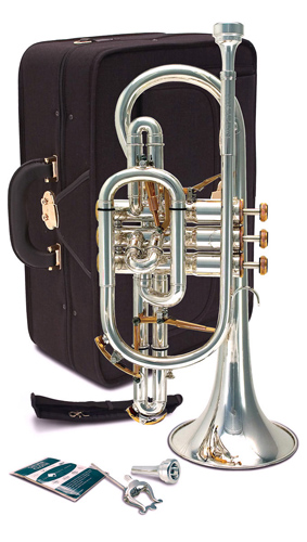 Besson Prestige BE2028 Silver Plated - Cornet