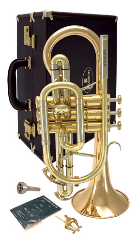 Besson Sovereign BE928G Lacquer - Cornet