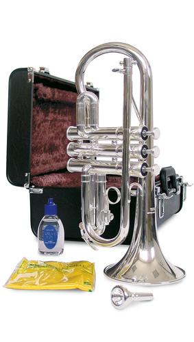Yamaha YCR-2610SIII Silver Plated - Soprano Cornet in Eb