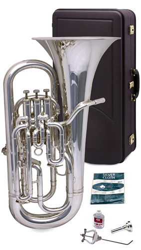 Besson Sovereign BE968 Silver Plated - Euphonium