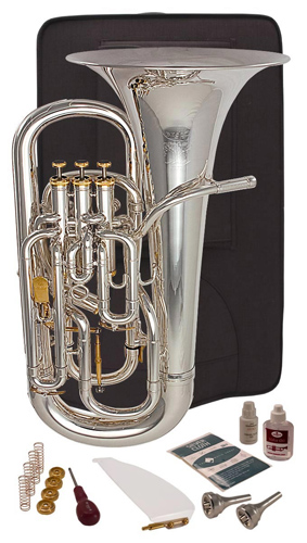 Besson Prestige BE2052 Silver Plated - Euphonium