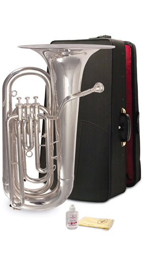Besson BE1077 Silver Plate - 3 Valve Tuba