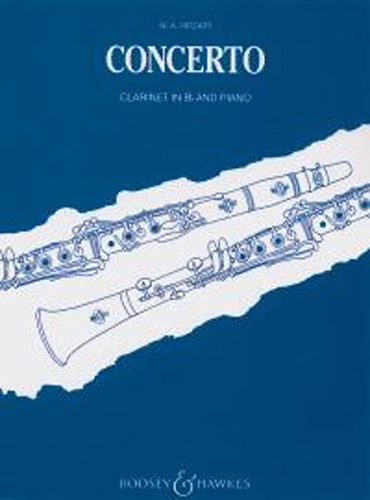 Mozart Concerto K622 A Clarinet in Bb