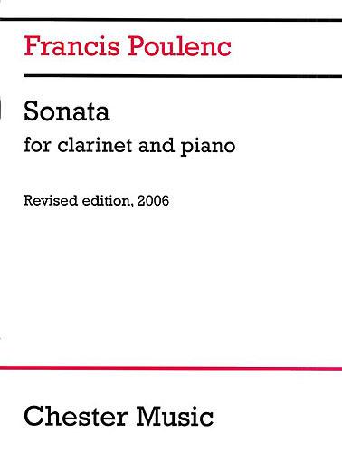 Poulenc Sonata Clarinet & Piano revised edition