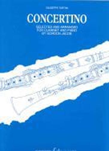 Tartini Concertino (ed Jacob) Clarinet & Piano
