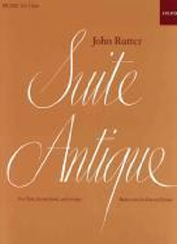 Rutter Suite Antique Flute & Piano