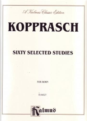 Kopprasch Studies (60 Selected ) Horn