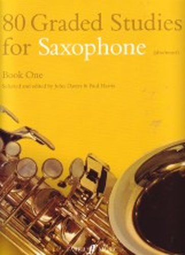 80 Graded Studies For Saxophone Book 1