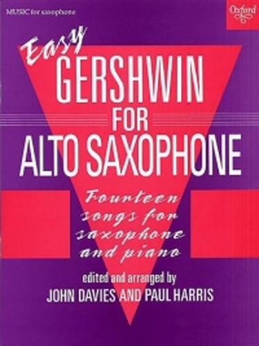 Gershwin For Easy Saxophone (14 Songs) Davies