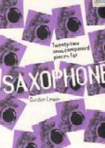 Lewin 22 Unaccompanied Pieces Saxophone