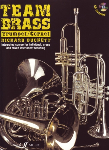 Team Brass Trumpet Cornet Book & Cd