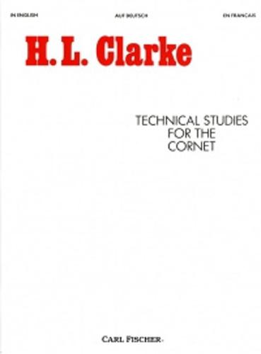 Clarke Technical Studies For The Cornet Eng/Ger/F