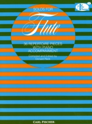 Solos For Flute (36 Repertoire Pieces) ed Peck